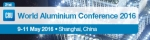CRU 그룹 주최의 세계 알루미늄 컨퍼런스가 5월 9일부터 11일까지 중국 상하이에서 개최된다