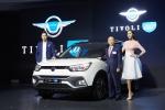 쌍용자동차가 소형 SUV 시장의 No.1 브랜드에 새로운 스타일과 상품성으로 Upgrade된  티볼리 에어 신차발표회를 개최했다