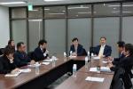 이노비즈협회-중소기업청 생산기술국장 간담회를 개최한 모습이다