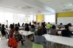 ABA부모대학에서 이론 교육 중인 모습이다 (사진제공: 성남시 한마음복지관)