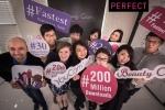 글로벌 뷰티 앱 개발사 퍼펙트의 뷰티 앱이 합산 다운로드 2억 건을 달성했다