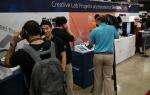 SXSW 2016에 마련된 삼성전자 C랩 우수과제 전시부스 전경