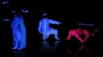 UV light 기술을 접목한 융·복합 공연 야심성유휘(夜深星愈輝) (사진제공: 대한택견회)