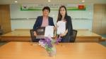 왼쪽부터 린탄코리아 김기덕 대표, 베트남 메딜라스 마담란 회장 (사진제공: 린탄코리아)