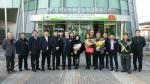 린탄코리아 김기덕 대표(오른쪽부터 세 번째), 베트남 메딜라스 마담란 회장(오른쪽부터 여섯 번째), 베트남 린탄그룹 마담화 회장(오른쪽부터 여덟 번째) (사진제공: 린탄코리아)