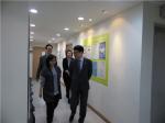 종로여성인력개발센터 시설 라운딩을 하는 고영선 고용노동부 차관 및 관계자 (사진제공: 종로여성인력개발센터)