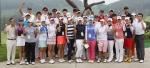 건국대학교 골프부가 국내외 프로골프대회에서 통산 100승을 달성했다