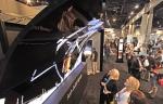 LG전자가 16~17일 미국 라스베이거스에서 열린 상업용 디스플레이 전시회 DSE 2016에 참가해 다양한 올레드 사이니지 제품들을 대거 선보였다