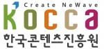 한국콘텐츠진흥원이 새로운 기관 상징 디자인을 발표했다