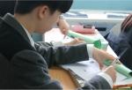 지난 21일 충남 대산고에서 교과인성융합수업의 일환으로 시작된 마음수련 명상 수업