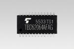 """도시바, 1.5V 싱크 출력 드라이버를 탑재한 DMOS FET 트랜지스터 어레이 """"TBD62064AFAG"""" 출시"""