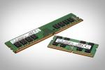 삼성전자가 2월부터 세계 최소 크기의 10나노급 8Gb DDR4 D램을 양산했다