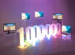 삼성전자 커브드 모니터가 글로벌 판매 100만대를 돌파했다