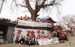 KT&G상상유니브와 희망이음, 드림인공존이 환경개선 벽화사업을 실시했다