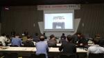 영일교육시스템의 강병문 계장이 SIMTOS 캐드캠, 3D 프린팅&스캐닝 컨퍼런스에서 MakerBot 국내고객 활용사례를 발표하고 있다