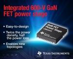 TI가 600V 질화갈륨 70mΩ FET 전력 스테이지 엔지니어링 샘플을 제공한다