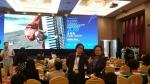 28일 CICAF 개막식 포럼에 참석한 시카프2016 조직위원회, 이종한 집행위원장(좌), 이호영 사무국장(우)