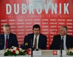 터키항공 두브로브니크 취항 기자회견 모습이다