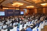 4월 28일 중국 상해 홀리데인호텔에서 개최되었던 한중 식품콜드체인교류회 회의장 모습