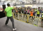 Herbalife members take steps towards inspiring healthy active living.(Photo: Business Wire)