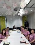 국제아로마테라피임상연구센터가 힐링아로마테라피 프로그램 갭코리아 패밀리데이 행사를 실시했다