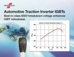 페어차일드가 하이브리드 자동차와 전기 자동차를 위한 새로운  디스크리트 및 베어 다이 IGBT 출시했다