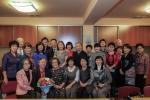 러시아 유즈노 사할린스크 예술인 및 한인 지도자들과 함께 한 나상만 교수
