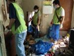 한국보건복지인력개발원 광주센터 더 좋은친구 하비가 독거어르신 청소·말벗 봉사활동을 했다