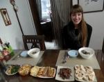 Lodge 82 외국인 민박인 미국 Clatin과 함께 한식 생활 음식 체험.