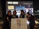 수학여행으로 방문한 중국 고등학교 선생님과 학생들과 함께 K-pop 공연 관람.