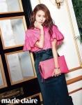 배우 이연희가 패션 매거진 마리끌레르 6월호에서 팔색조 비주얼을 선보였다