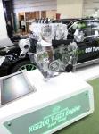 쌍용자동차가 ENVEX 2016에 친환경 가솔린 엔진 기술인 린번 엔진 기술을 선보였다