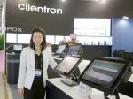 """클라이언트론 사장 겸 CEO 켈리 우(Kelly Wu)는 """"클라이언트론은 종합적인 신클라이언트와 POS 제품 라인업을 컴퓨텍스 2016에서 선보일 예정이다""""고 말했다."""