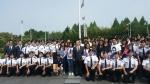 동명대 학생 110여명, 1일 유엔기념공원 헌화참배