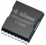인피니언 테크놀로지스가 TO-Leadless 패키지로 제공되는 CoolMOS C7 골드 650V를 출시했다