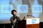 SAP 코리아(사진 신은영 SAP 코리아 부사장)가 오늘 백투워크 프로그램을 발표했다
