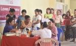 LG전자가 의료시설이 낙후된 동남아시아 건강증진에 앞장선다