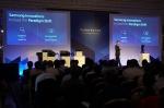 6월 8~9일(현지시간) 헝가리 부다페스트의 코린시아 호텔에서 열린 삼성전자 유럽 프린팅 파트너 서밋에서 프린팅솔루션사업부 김기호 사업부장이 지난해 성과와 올해 성장 전략을 소개하고 있다