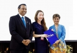 미용영어전문가 과정 강사인 고은지 씨는 미용영어 관련 연구로 MELTA 학회에서 대학원생 부분 금상을 수상했다
