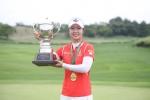 건국대 골프부 박지영이 KLGPA 첫 우승을 차지했다