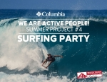 컬럼비아가 여름 맞이 워터스포츠 체험 행사의 마지막 프로그램 서핑 파티의 참가자 접수를 시작한다