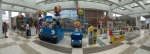 뽀로로와 타요로 유명한 아이코닉스의 아동복 브랜드 '타요더리틀버스'가 23일 신세계 김해점에 매장을 오픈했다
