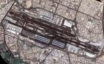 두바이 국제공항 위성 사진