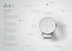 DOT.THE FIRST BRAILLE SMARTWATCH