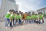 건국대 성신의 해외봉사단이 태국에서 사랑의 집짓기 봉사를 실시했다