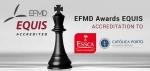 EFMD가 카톨리카 포르투게사 대학교 카톨리카 포르투 비즈니스 스쿨, ESSCA 경영대학에 EQUIS 인증을 수여했다