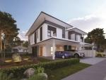 트로피카나 아만의 체리아 주택단지 반 단독 연립주택