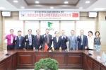 황산대학교 대표단이 30일 동명대에 공식 방문했다