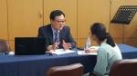 온라인에서 대치동개구리쌤으로 활동하는 전관우대표가  대입컨설팅상담을 하고 있다
