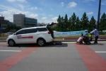 광주광역시교통약자이동지원센터가 광주전국장애인 보치아선수권대회에 차량을 지원했다